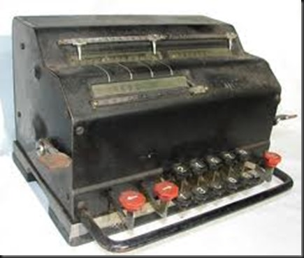 Facit adding machine