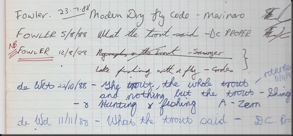 Toms old book register